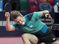 Tischtennis German Open 2018 am 20 03 2018 in der ÖVB Arena in Bremen Bremen Ruwen Filus TTC Rh