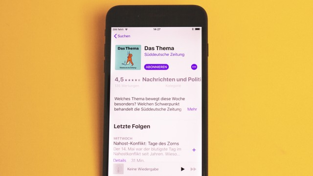Podcast SZ-Audioangebot