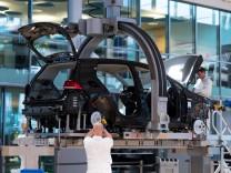 Produktion VW e-Golf in Dresden