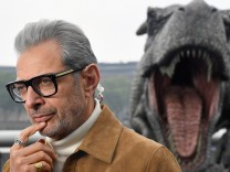 Cast member Goldblum attends photocall to promote the forthcoming film 'Jurassic World: Fallen Kingdom' in London, Britain