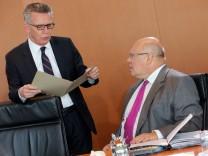 Thomas de Maiziere und Peter Altmaier