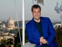 Markus Söder besucht den Vatikan