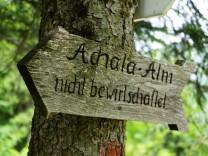 Achala-Alm und Umgebung