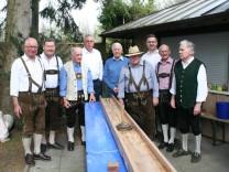 Die Keglergemeinschaft der Volksbank Raiffeisenbank Dachau eG feiert ihr 55-jähriges Bestehen