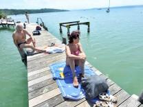 Herrsching: Strandbad Seewinkel