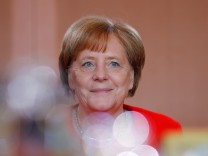 German Chancellor Angela Merkel attends the weekly cabinet meeting in Berlin