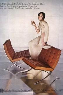 Knoll Associates Magazine, advert, USA, 1970s