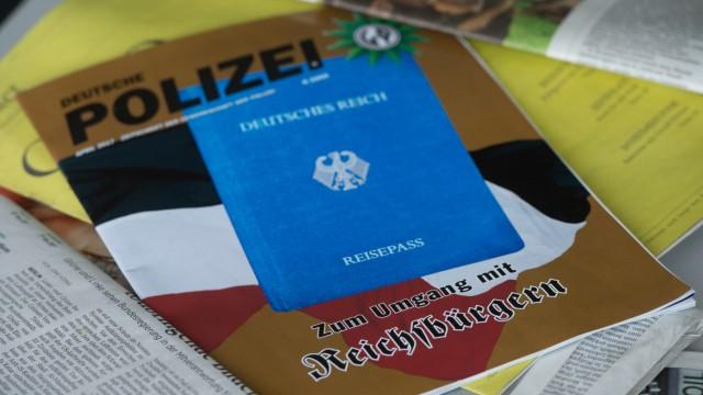 Ein der Reichsbürgersszene zugeordneter Mann hat dem Staatsschutz per Fax gedroht.