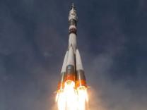 Weltraummission zur Raumstation ISS
