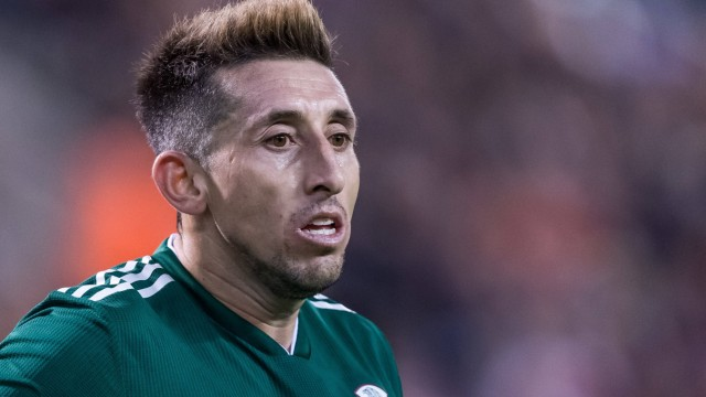 Hector Herrera of Mexico during the friendly match between Belgium and Mexico on November 10 2017 a; Hector Herrera Mexiko