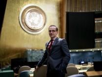 Bundesaußenminister Maas bei den Vereinten Nationen