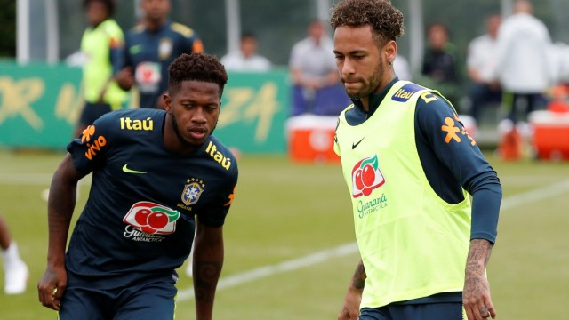 FIFA World Cup - Brazil Training