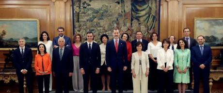 Neues Regierungskabinett in Spanien