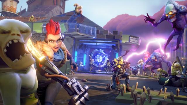 Eine Szene aus dem Computerspiel Fortnite