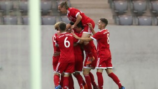 Bayern Muenchen U17 v RB Leipzig U17 - B Juniors German Championship Semi Final Leg One