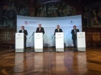 Abschluss der Innenministerkonferenz in Quedlinburg