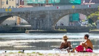 Sommerwetter in Regensburg