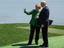 Heads Of State Attend G7 Meeting In Quebec - Day One