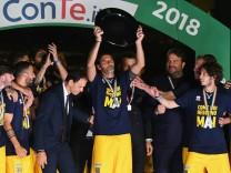 Parma Calcio Celebrates The Return To Serie A