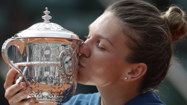 French Open Paris-Siegerin Simona Halep
