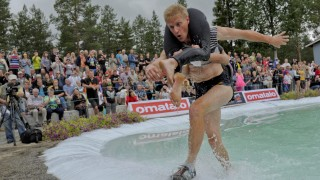 Wife Carrying World Championships in Sonkajarvi, Finland