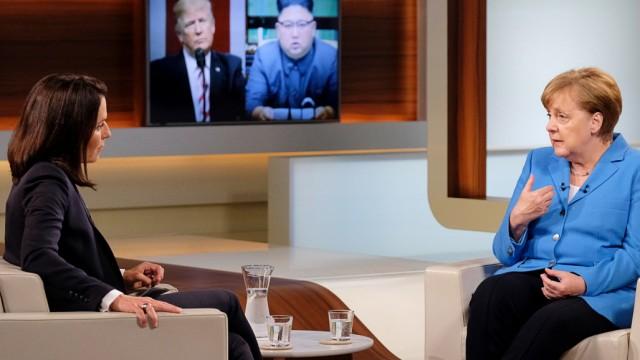 Angela Merkel zu Gast bei Anne Will - die Bundeskanzlerin zeigt sich kämpferisch und in ihren Aussagen überraschend deutlich.