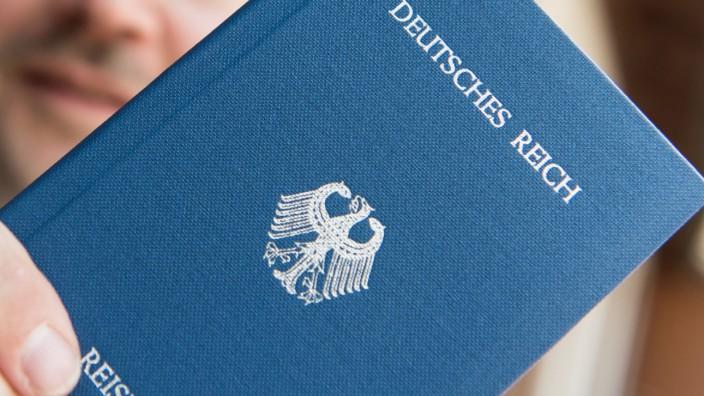 Deutsches Reich Reisepass