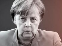 Angela Merkel bei einer Sitzung des CDU-Vorstands 2018 in Berlin.