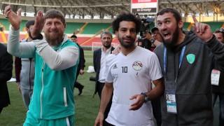 Fußball-WM Mo Salah in Tschetschenien