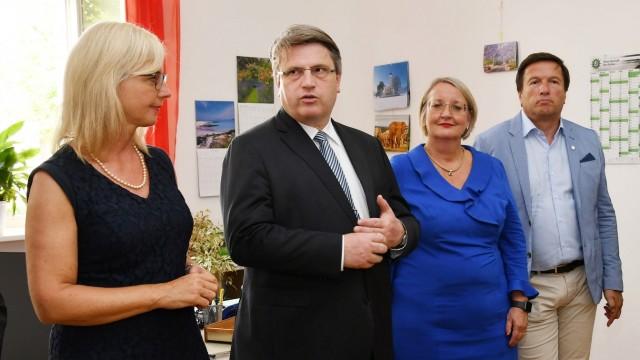 Erding Justizminister Bausback in Erding