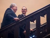 Pressekonferenz Heiko Maas und Nikos Kotzias