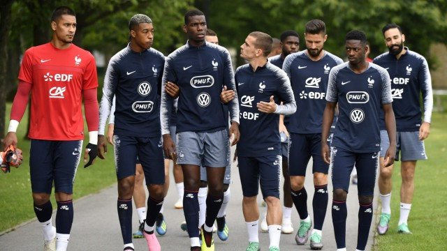 Süddeutsche Zeitung Sport Frankreichs WM-Team