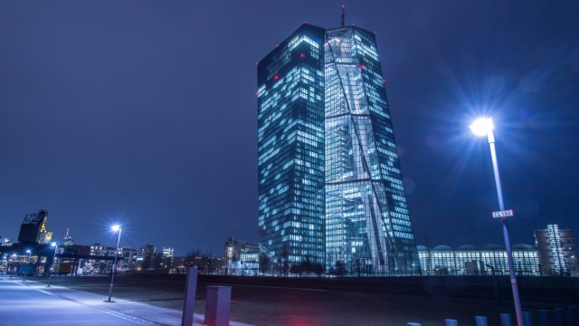 EZB in Frankfurt am Main
