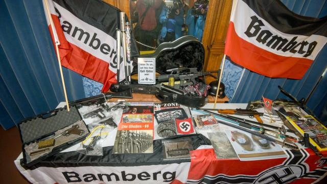 PK zu Razzia gegen Rechtsextreme in Bamberg