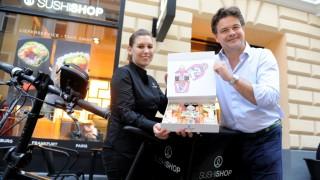 """In München hat ein """"Sushi Shop"""" eröffnet"""