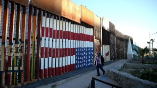 BESTPIX Trump Vows To Build Border Wall Between Mexico And The U.S.