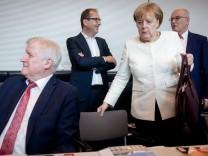 Unions-Fraktionssitzung
