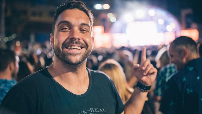 Vibe-Manager Miguel Gonzáles, der mit dem Hard Rock Hotel Teneriffa der Insel ein neues Image geben will.