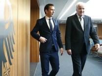 Seehofer empfängt Österreichs Bundeskanzler Kurz