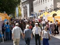 Stadtgründungsfest Fußgängerzone