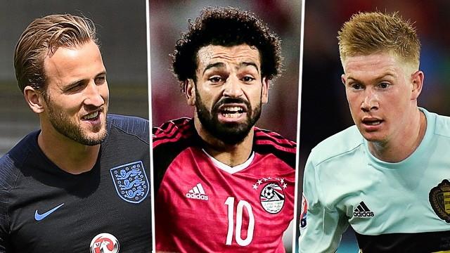 WM-Stars: Harry Kane, Mo Salah und Kevin de Bruyne
