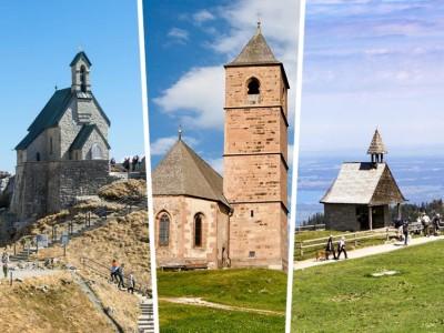 Wandern zu Bergkapellen: Göttliches am Gipfel