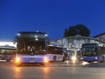 Warnstreik bei Münchner Bussen und Trams