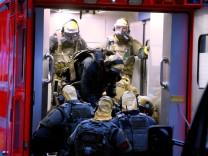 Verdächtige Substanzen in Kölner Hochhau