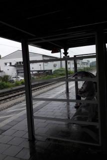 fehlender Regenschutz, Bahnhof Fürstenfeldbruck