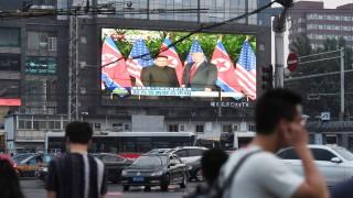 Politik China Vereinbarung von Trump und Kim