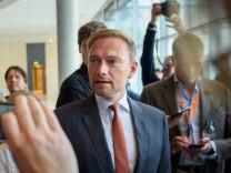 FDP-Chef Christian Lindner im Bundestag