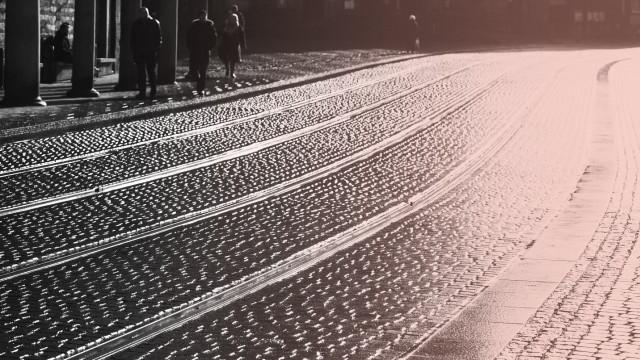 Straßenszene in Bremen