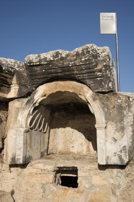 The Plutonion at Hierapolis, Turkey.