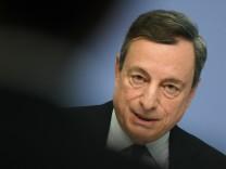 EZB-Pressekonferenz - Draghi